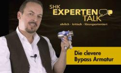 Die clevere Bypass-Armatur