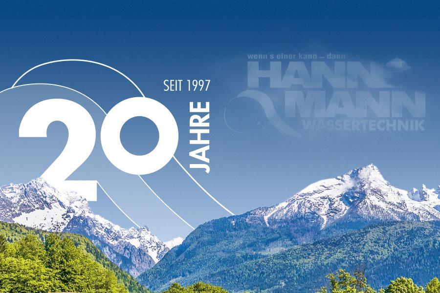 20 Jahre Hannemann Wassertechnik, Heizungswasser vom Experten