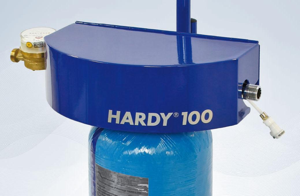 hardy 100 die mobile heizungswasserf llanlage hannemann wassertechnik deutschland gmbh. Black Bedroom Furniture Sets. Home Design Ideas