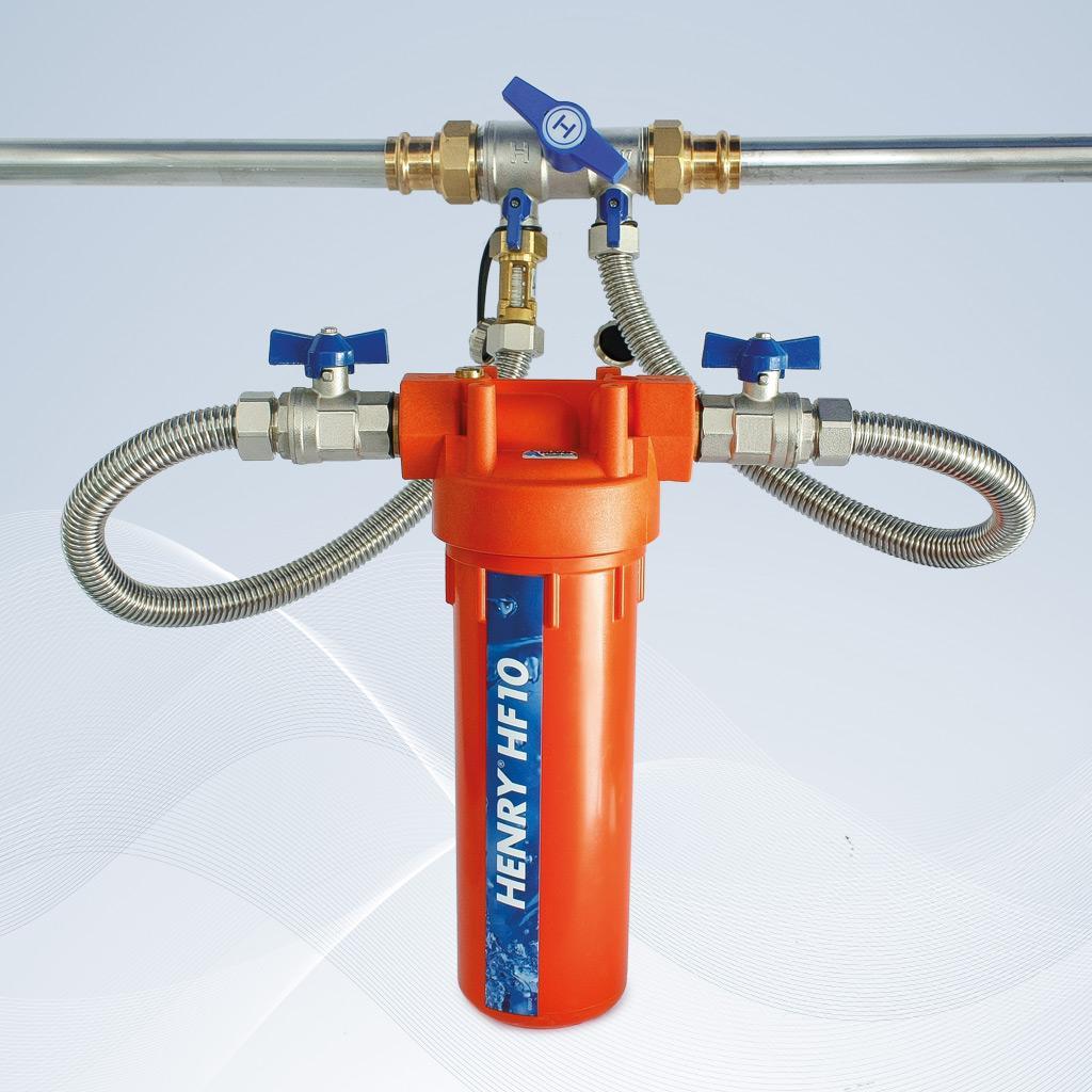 Henry HF10, Bypassfilter, Heizungswasserfilter, Heizungsfilter, Bypass-Filter, Hannemann Wassertechnik