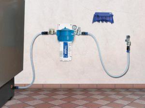 Temporäre Heizungswassernachfüllung