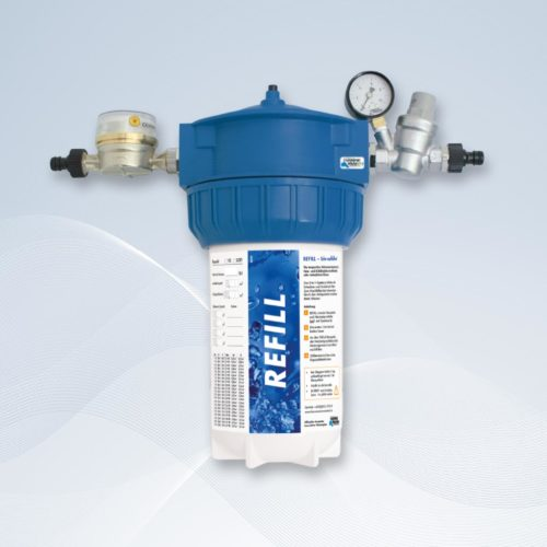 Refill, Temporäre Wassernachfüllung in Heiz- und Kühlkreisläufen, Hannemann Wassertechnik